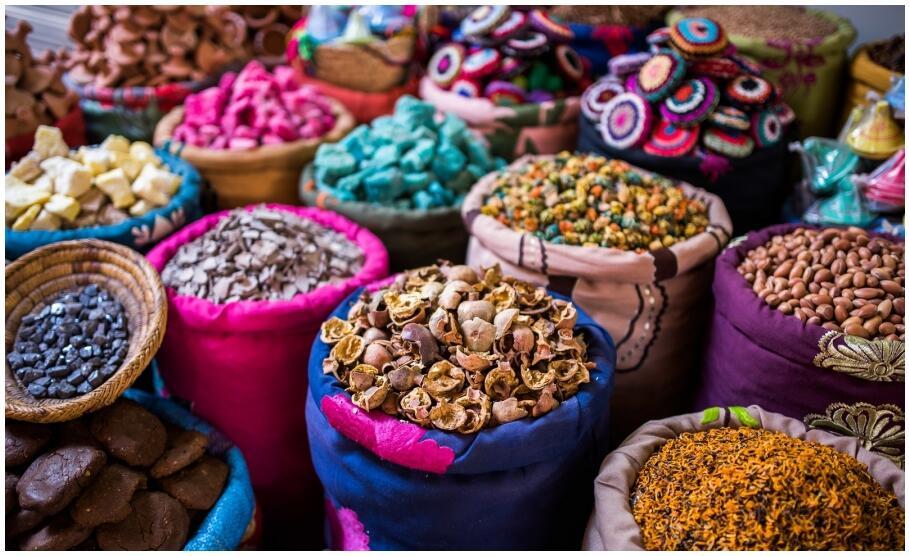 Souk in Marrakech Morocco