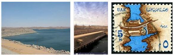 The Aswan High Dam Sadd El-Ali